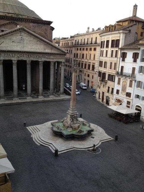 Rome at 6am
